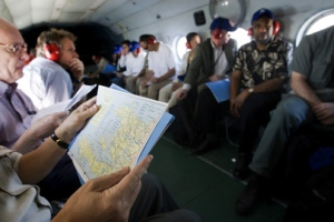 Members of the U.N. Security Council on a tour of Haiti. (UN Photo/Marco Dormino)
