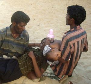 Sri Lanka conflict spares no one.