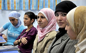 Iraqi refugees in Syria. (Peter Balleis, S.J./Jesuit Refugee Service)
